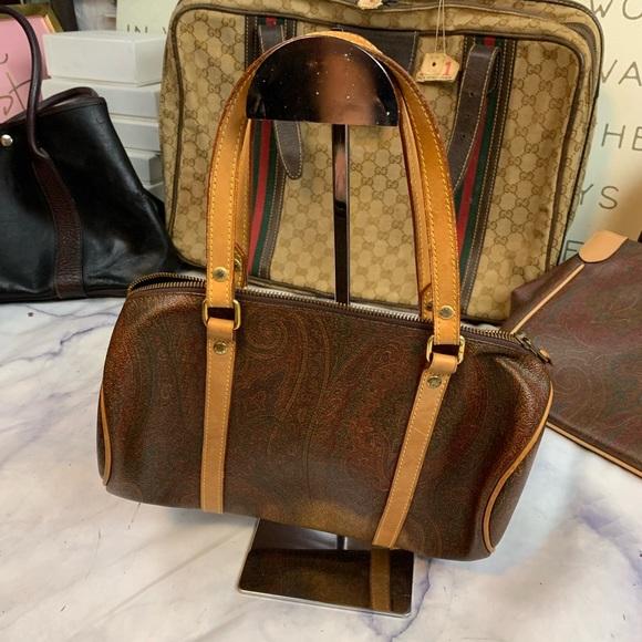 Etro Authentic Vintage Papillon Bag.
